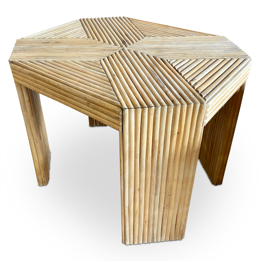 MCM Bamboo End Table