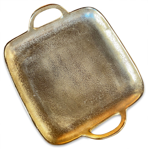 Textured Gold Tray