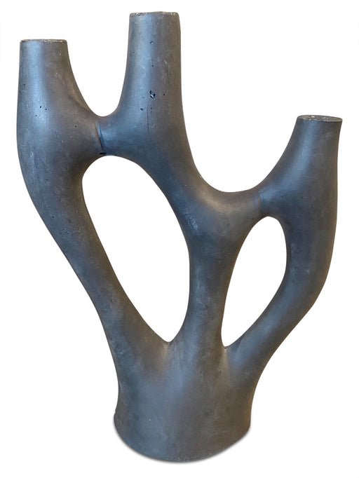 Sculptural 3 Light Candleholder