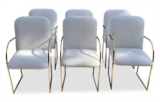 Set of 6 Milo Baughman Dining Chairs