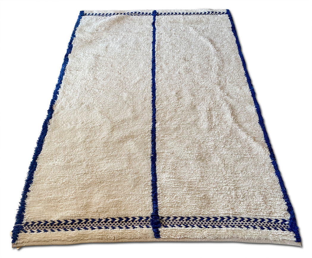 Morrow Soft Goods Blue + White Rug