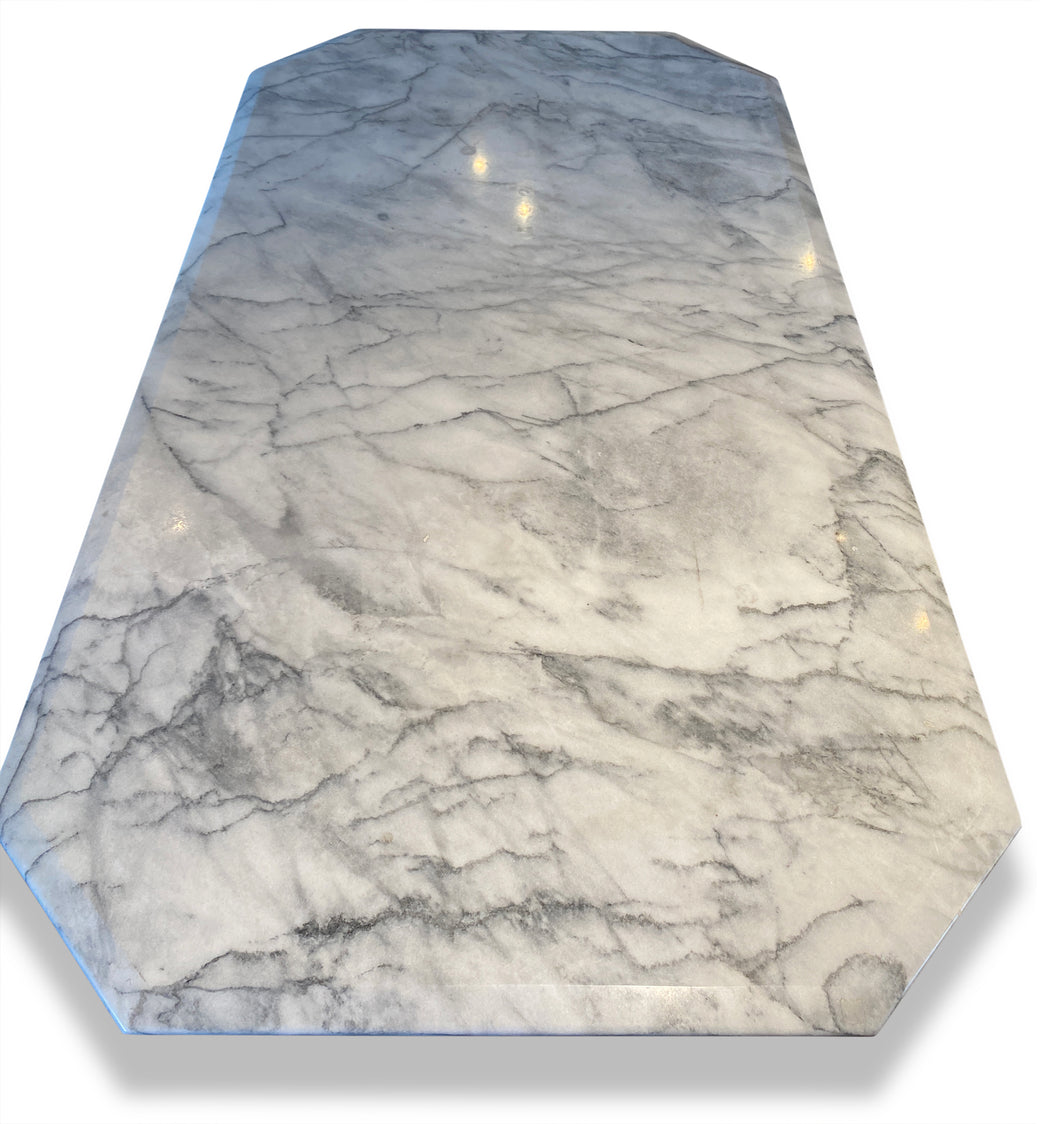 Carrara Marble Dining Table