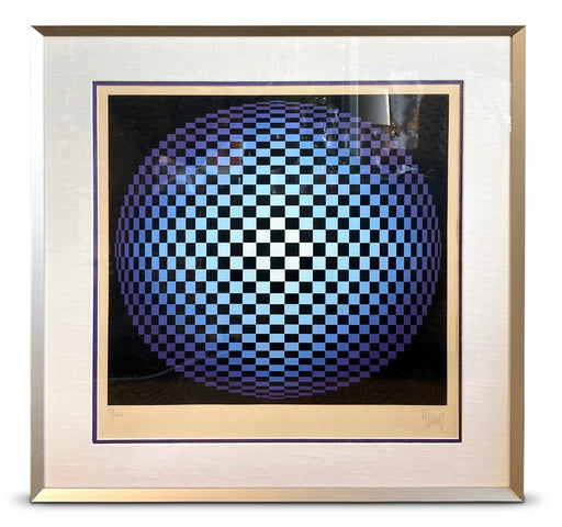 Original Signed Vasarely Print