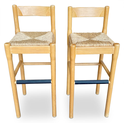 Pair of 'Carimate' Bar Stools by Cassina