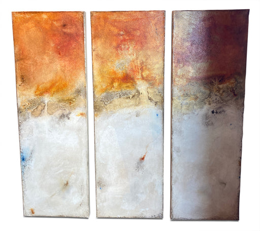 Contemporary Triptych by Michelle Y. Williams