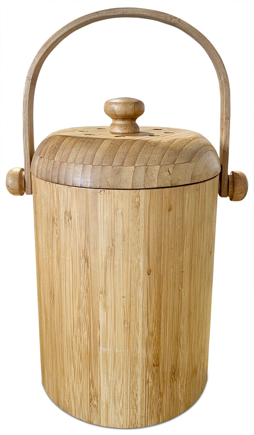 MCM Wood Ice Bucket