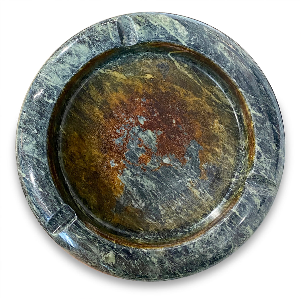 Green Marble Ashtray