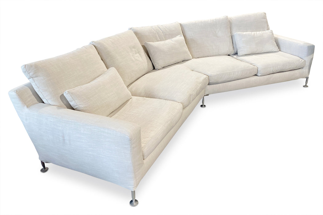 'Harry' Corner Sofa by Antonio Citterio for B&B Italia