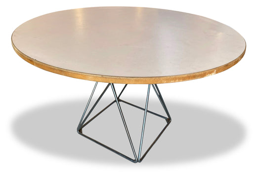 Round Thonet Dining Table