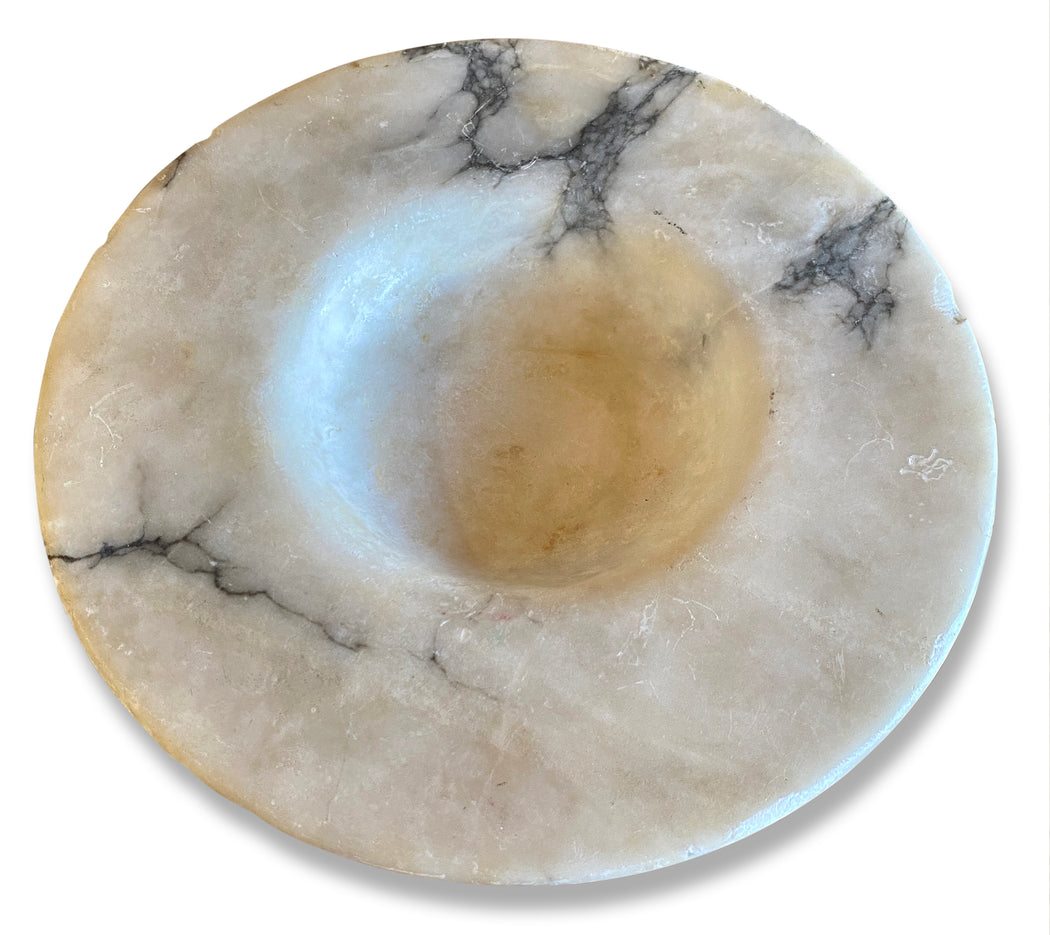 Wide Rim Marble Catch All