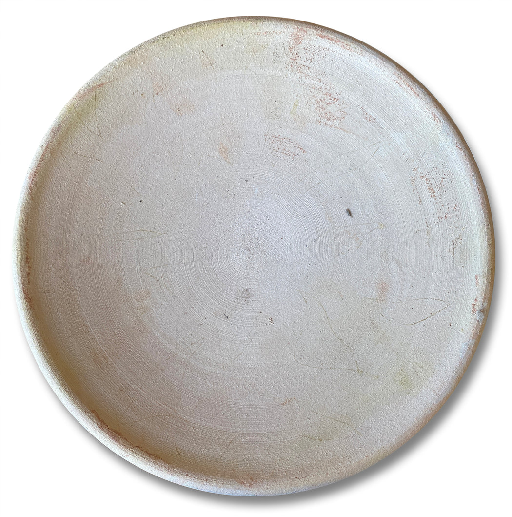 Unglazed Ceramic Plate