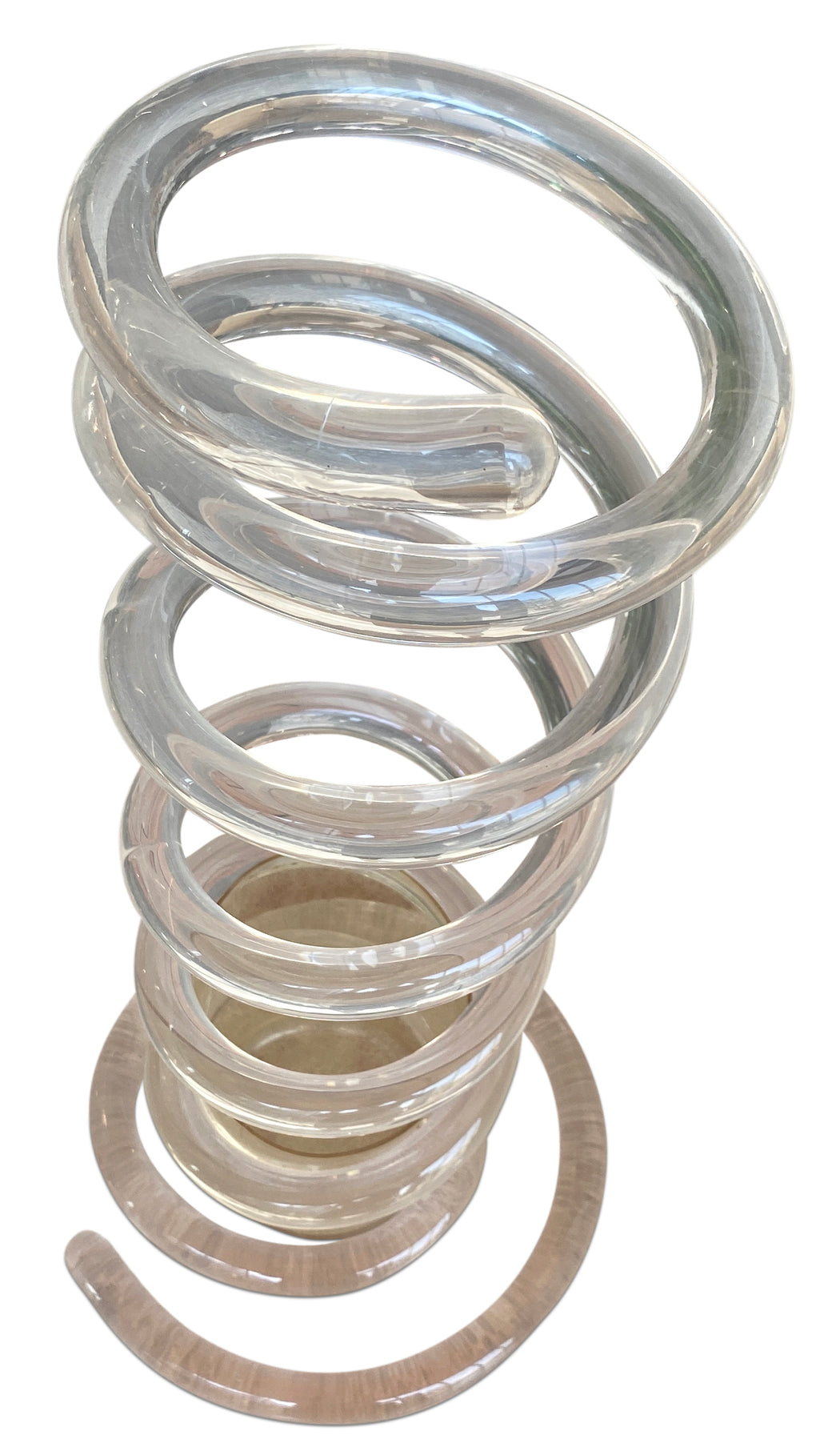 Acrylic Spiral Umbrella Stand by Dorothy Thorpe