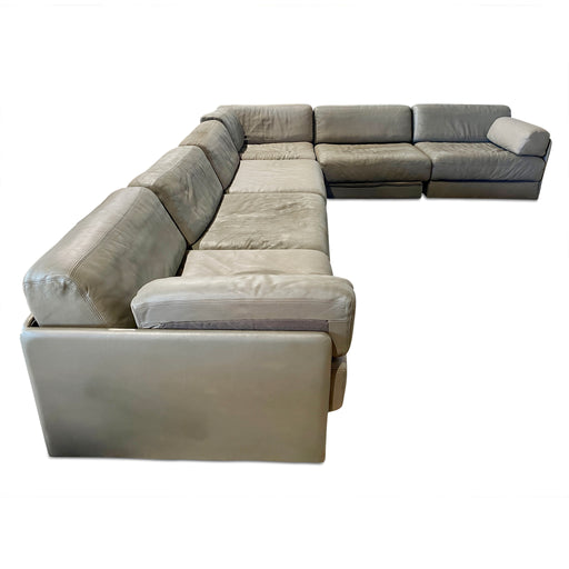 De Sede Leather Sectional