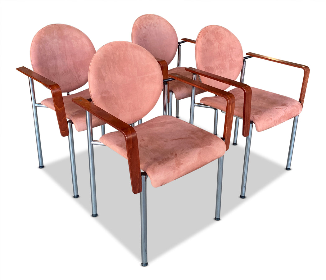 Set of 4 Kusch + Co Dining Chairs