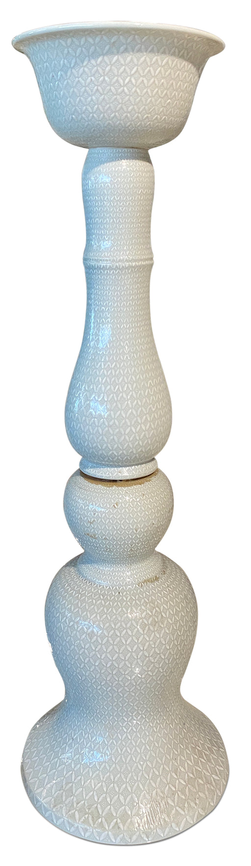 Jumbo Ceramic Candle Holder
