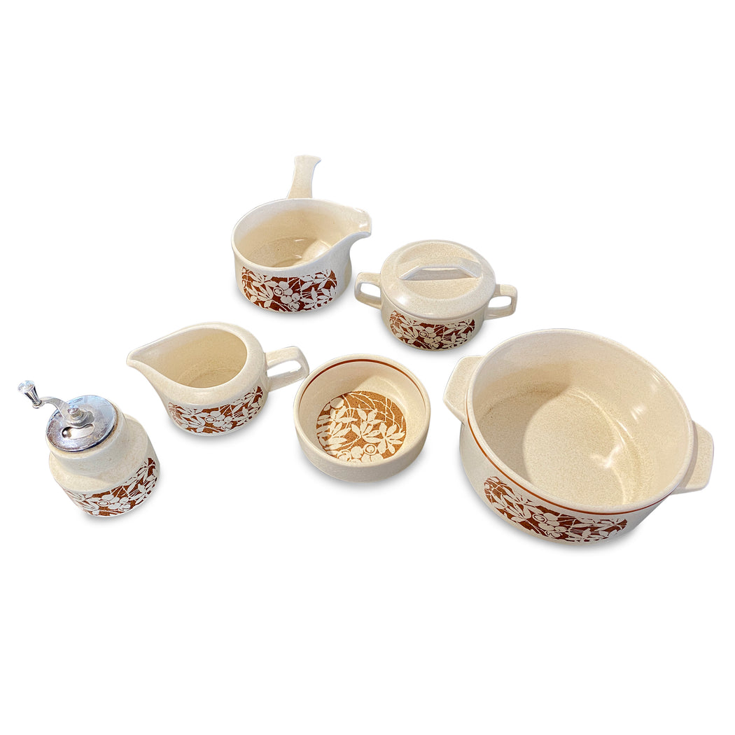 6-Piece Ceramic Lennox Flower Cookware Set