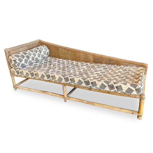 Vintage Wicker Daybed