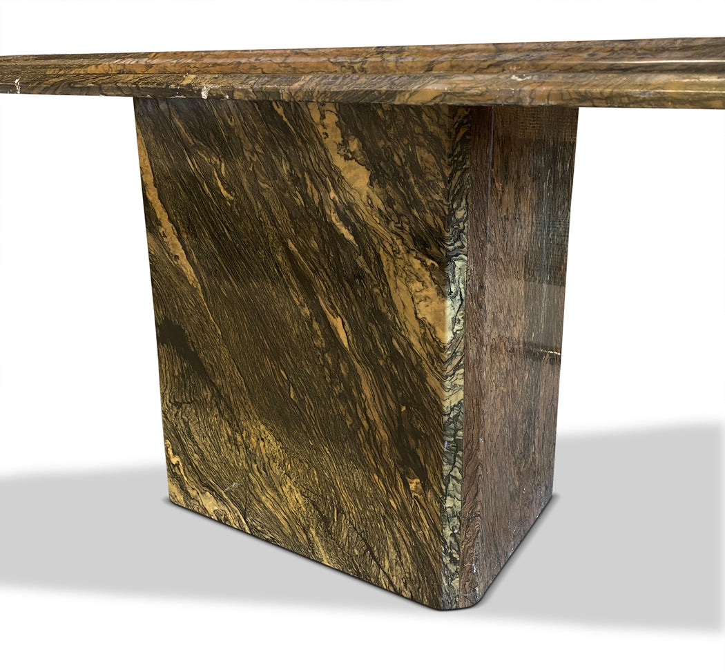 Green Marble Dining Table