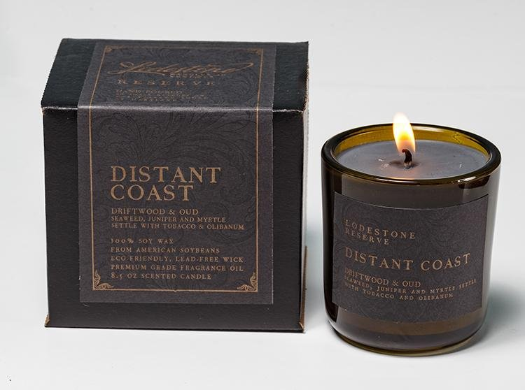 Distant Coast - Lodestone Candles of Kent & Co.