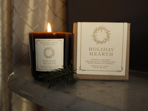 Holiday Hearth | 8.5 oz, 60 hr | Vintage Green