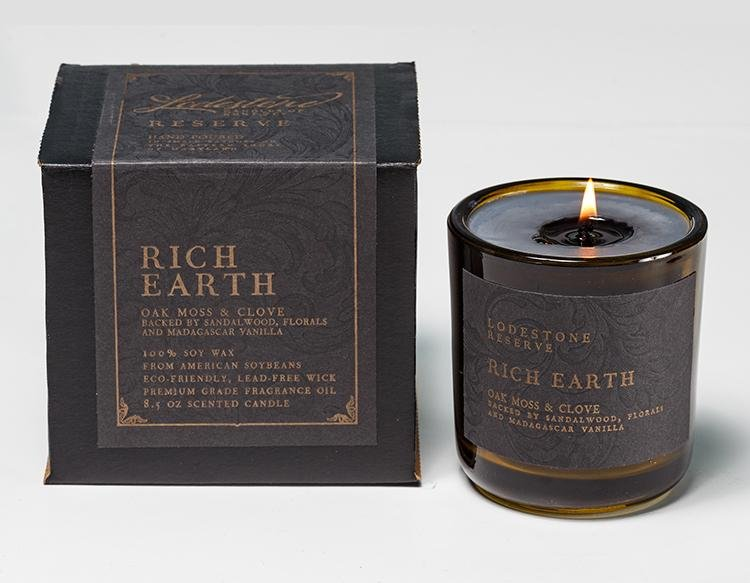 Rich Earth - Lodestone Candles of Kent & Co.