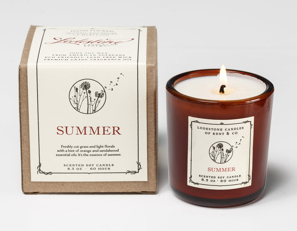 Summer - Lodestone Candles of Kent & Co.