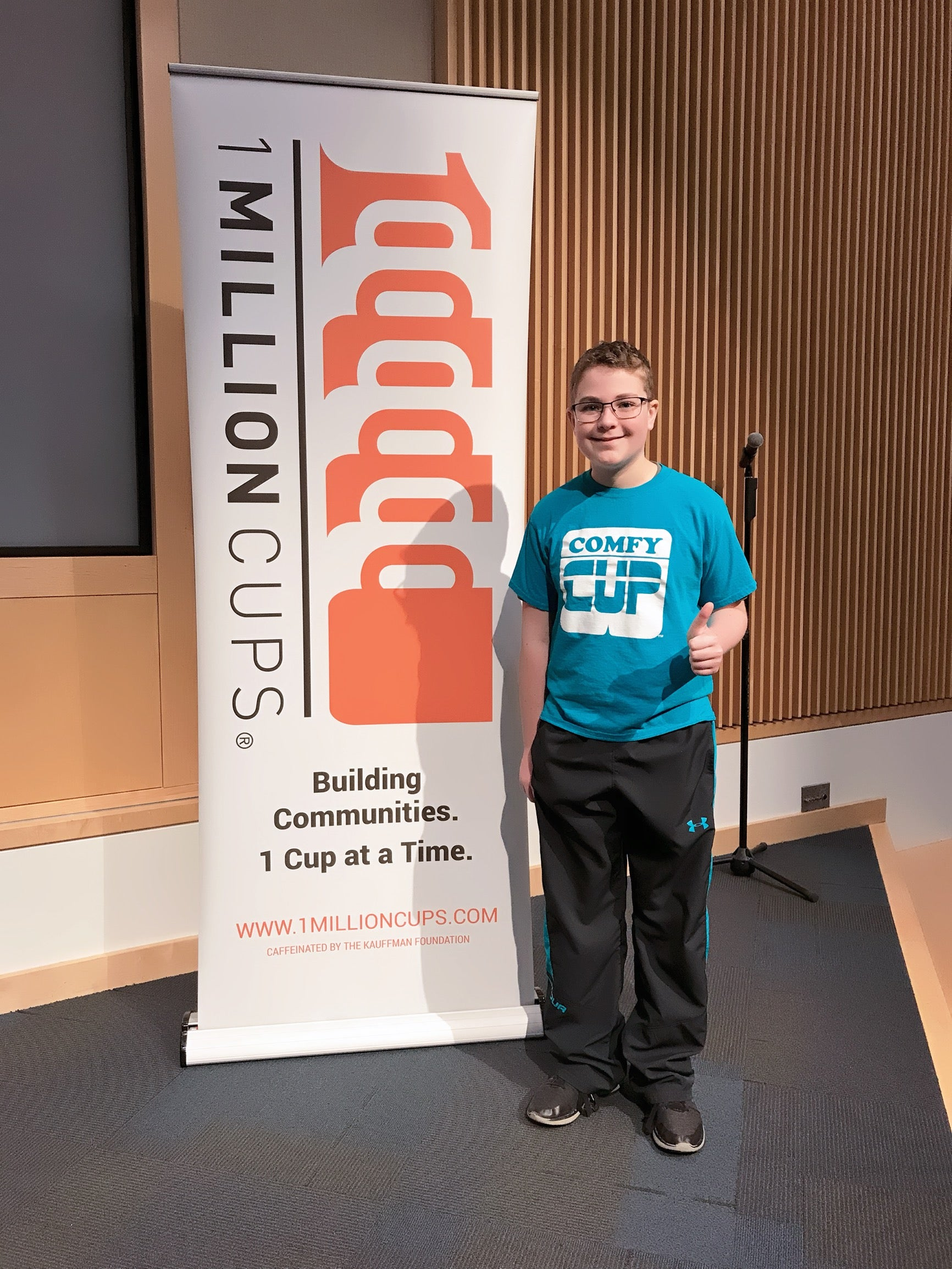 THE COMFY CUP CHRONICLES PART 45: 1 Million Cups KC