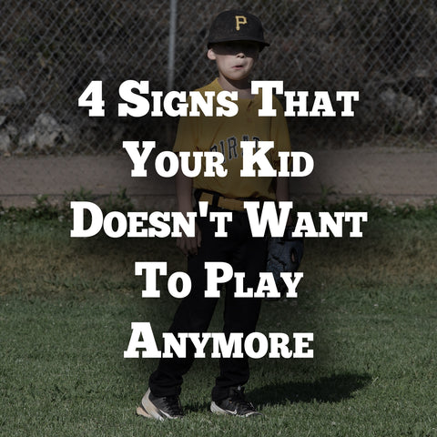 4 signs that  your kid doesn't want to play anymore
