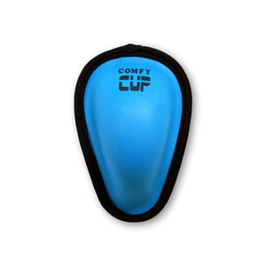 COMFY CUP IS AVAILABLE IN THREE COLORS, ALL SIZED TO FIT BOYS AGES 7-11 YEARS OLF