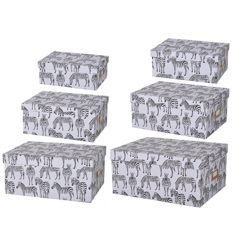 S/6 Albany Storage Boxes