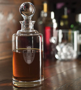 Whiskey Decanter engraved
