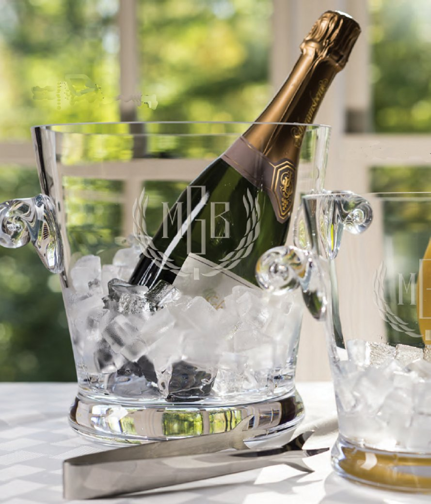 Personalized Engraved Champagne Bucket