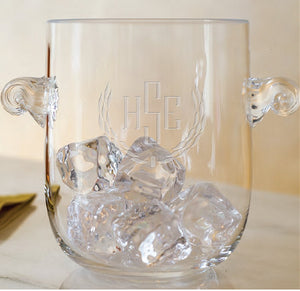 Atelier Engraved Ice Bucket 6 in