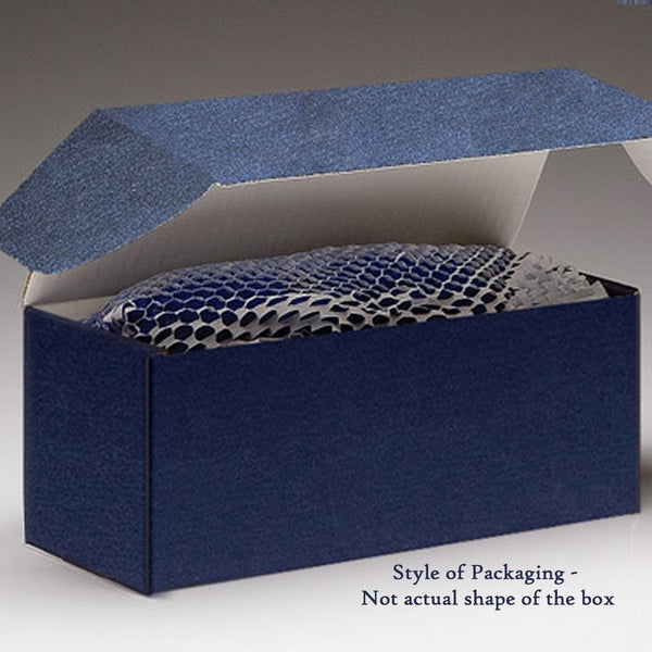 Engraved Plate Gift Packaging - Blue Box