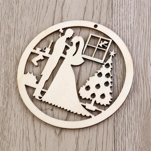 Wooden-Ornament-Holiday-Couple