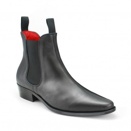 Classic Boot - Black Calf Leather