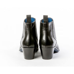 Ringo Boot - Black Calf Leather