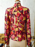 "1970's French Designer ""Christian Dior"" Blouse"