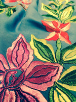 1950's Vintage Embroidered Shawl