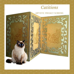 Catitions- Artistic Cat Privacy Screens