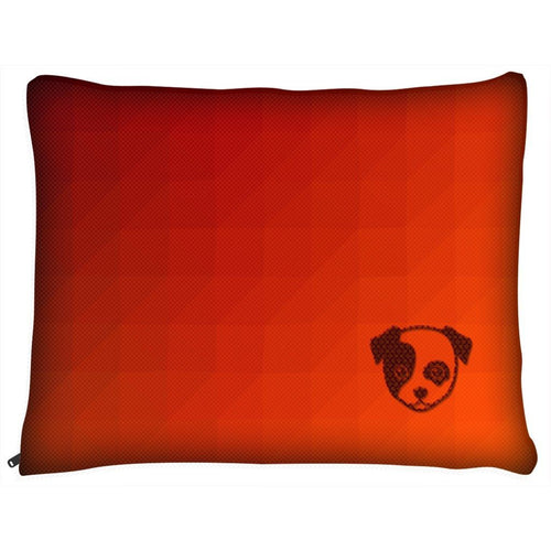 Dog Pillow Bed - Outdoor Dog Pillow Bed-Geometric III- Medium