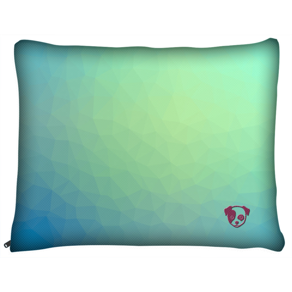 Dog Pillow Bed - Outdoor Dog Pillow Bed-Geometric VI-medium