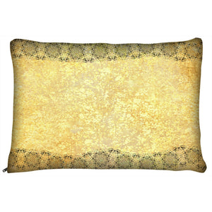 Dog Pillow Bed - Waterproof-Outdoor-Cat-Dog-Pillow-Bed-Gold-and-Lace