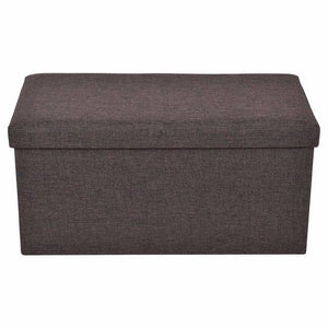 Furniture - Folding Ottoman Bench And Pet Toy Storage Stool
