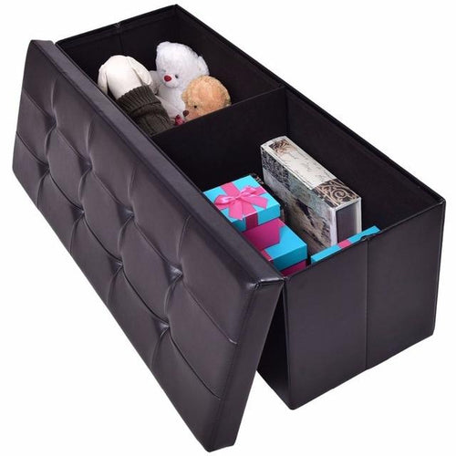 Furniture - Large Folding Pet Toy Storage Bench