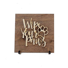 Home & Garden - Wood Sign - Cat And Dog Theme