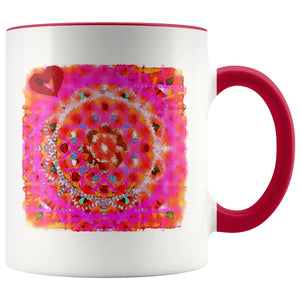 Mugs - Watercolor Mandala Love Mug