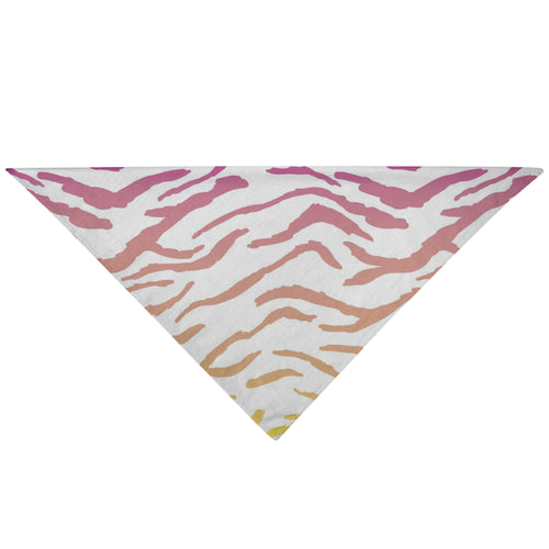Pet Bandana - Buddy Tiger Print Cat Dog Bandana
