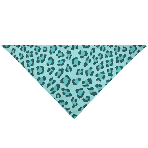 Pet Bandana - Turquoise Blue Cat Dog Bandana