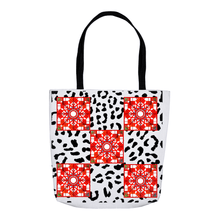 Tote Bag - Animal Print Mandala Tote Bag